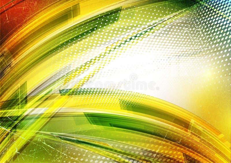 De achtergrond van de fantasie vector illustratie