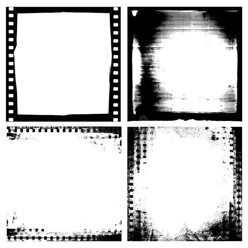 De achtergrond van de film vector illustratie