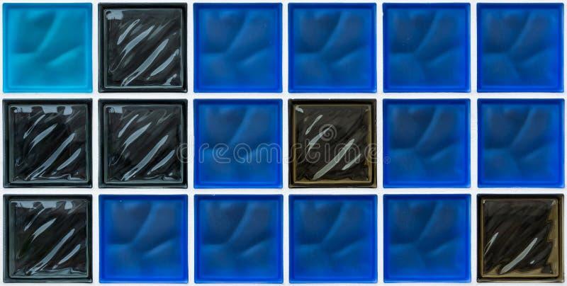 De achtergrond van de glasbaksteen, behang, textuur royalty-vrije stock foto's
