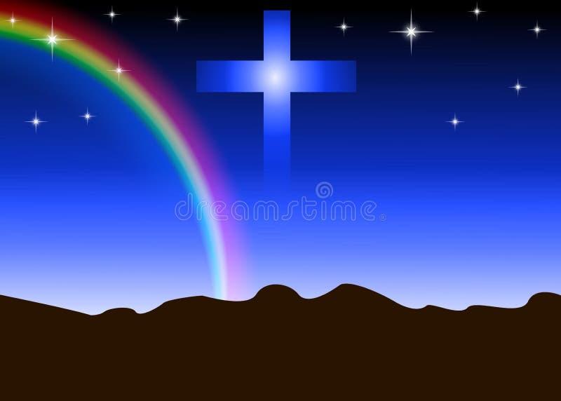 De Achtergrond van de godsdienst stock illustratie