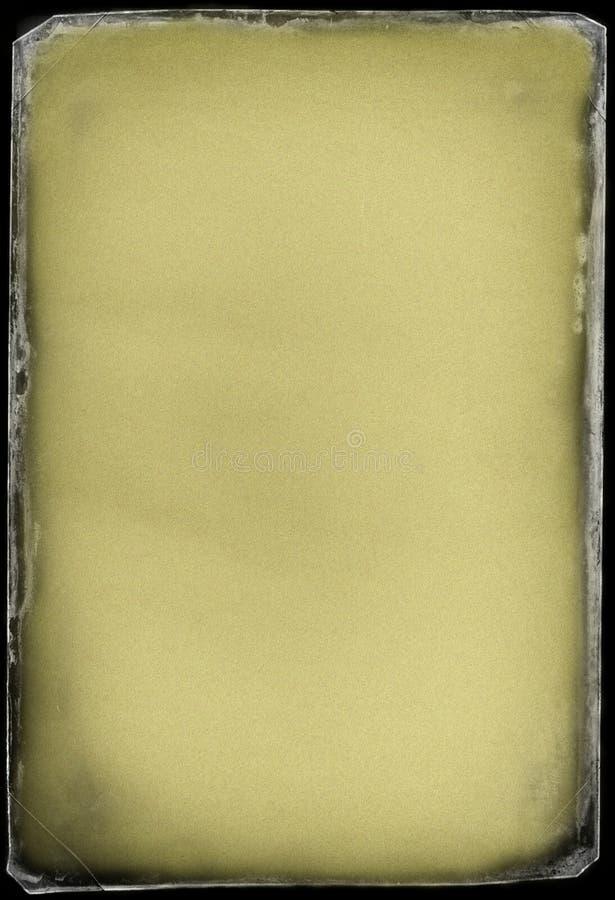 De achtergrond van de Grungepagina royalty-vrije illustratie