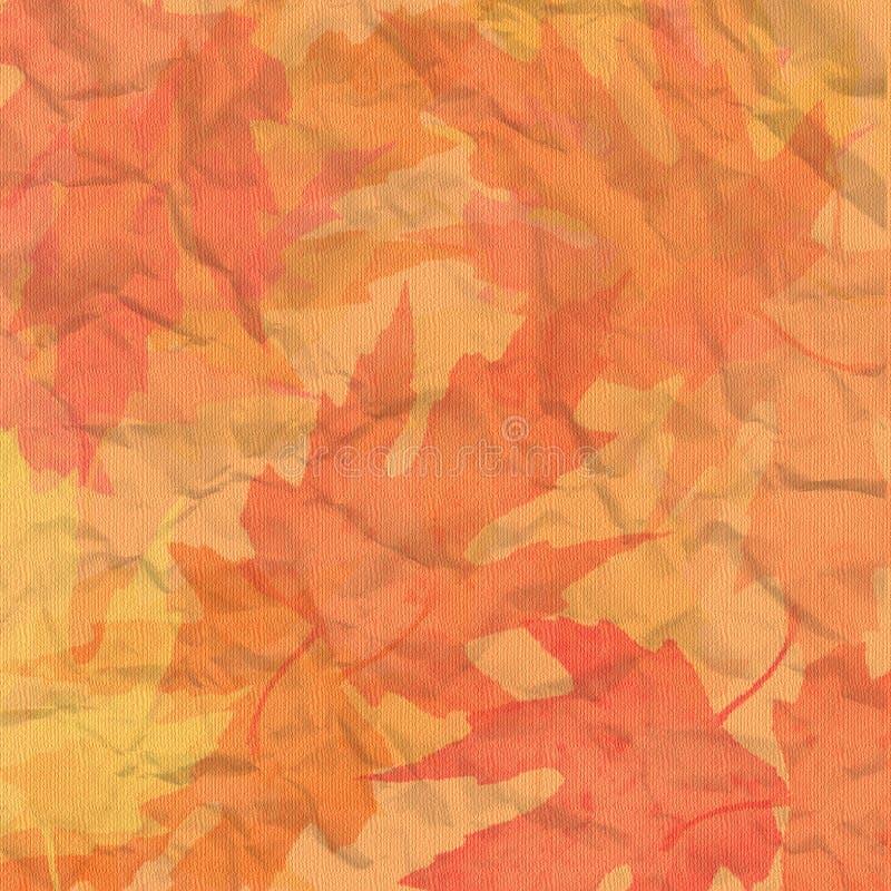 De achtergrond van de herfst vector illustratie