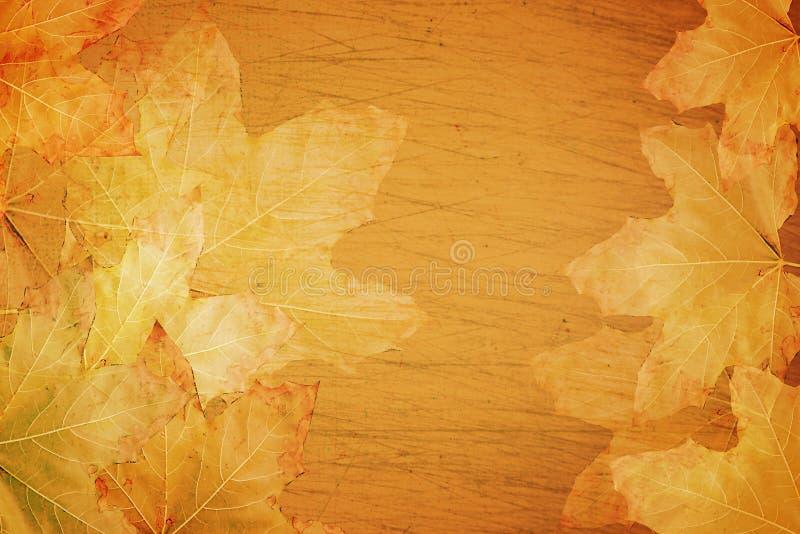 De achtergrond van de Herfst van de daling stock illustratie