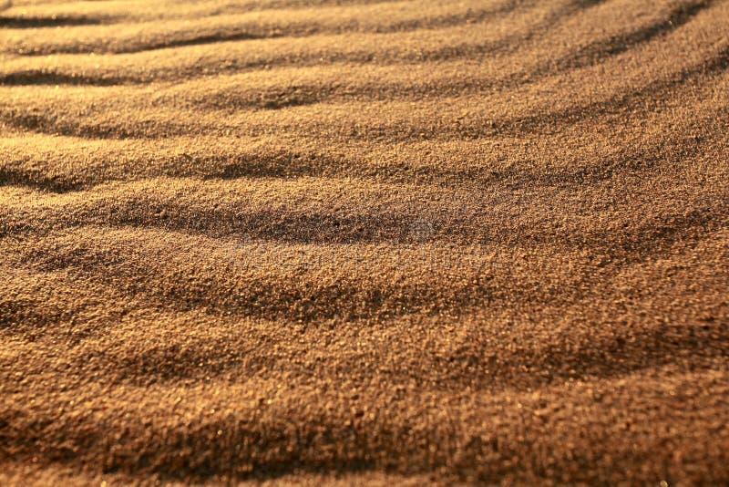 De achtergrond van de het zandtextuur van de woestijn royalty-vrije stock foto