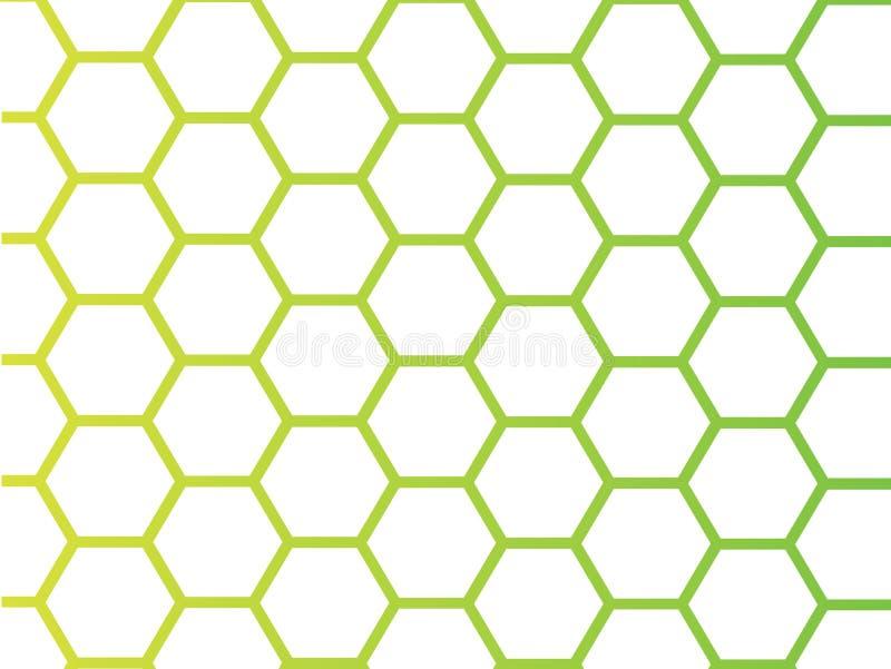 De Achtergrond van de honing stock illustratie