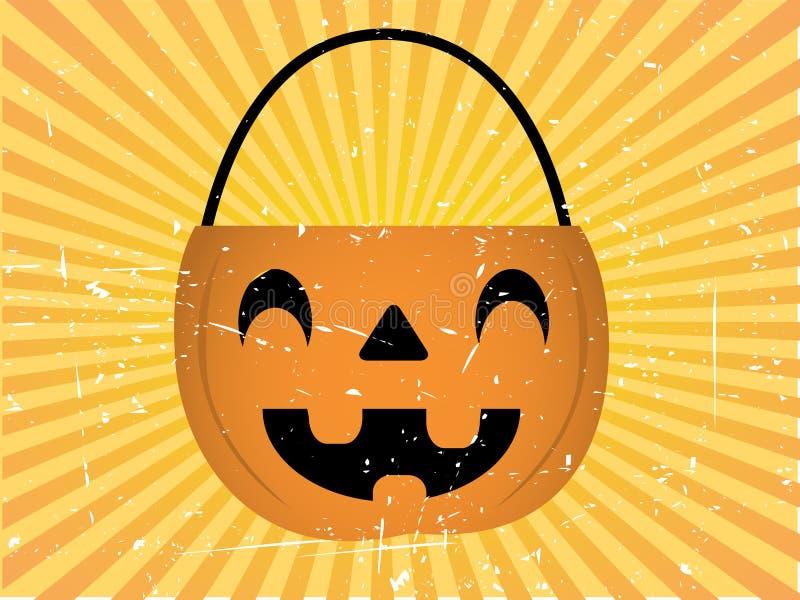 Download De Achtergrond Van De Houder Van Het Suikergoed Van Halloween Vector Illustratie - Illustratie bestaande uit hefboom, gezicht: 10779043