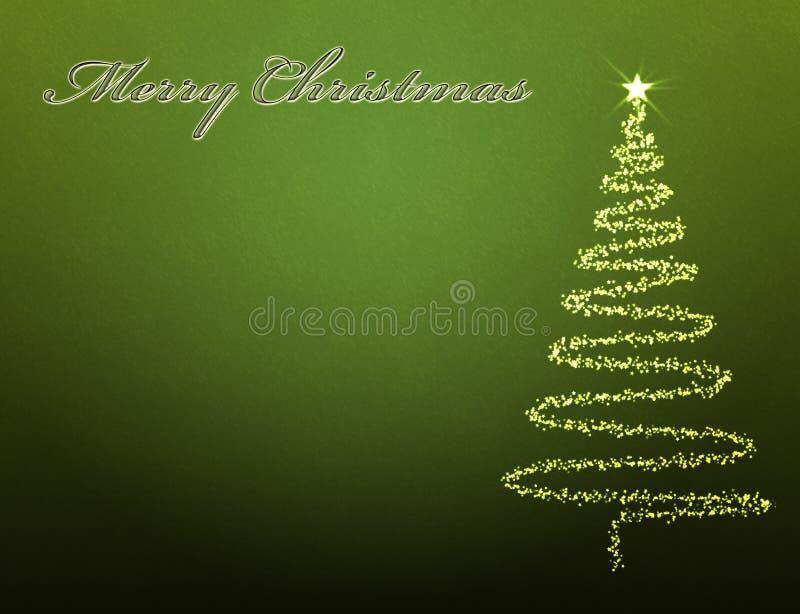 De achtergrond van de kerstboom vector illustratie