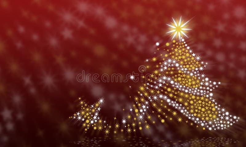 De achtergrond van de kerstboom stock afbeeldingen
