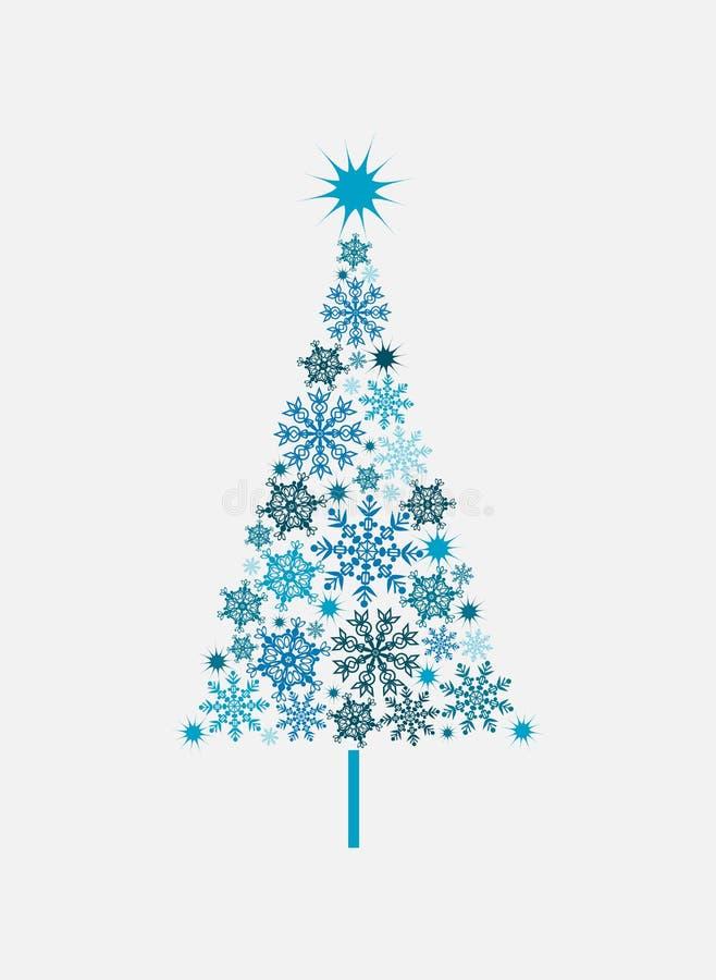 De achtergrond van de kerstboom, vector vector illustratie