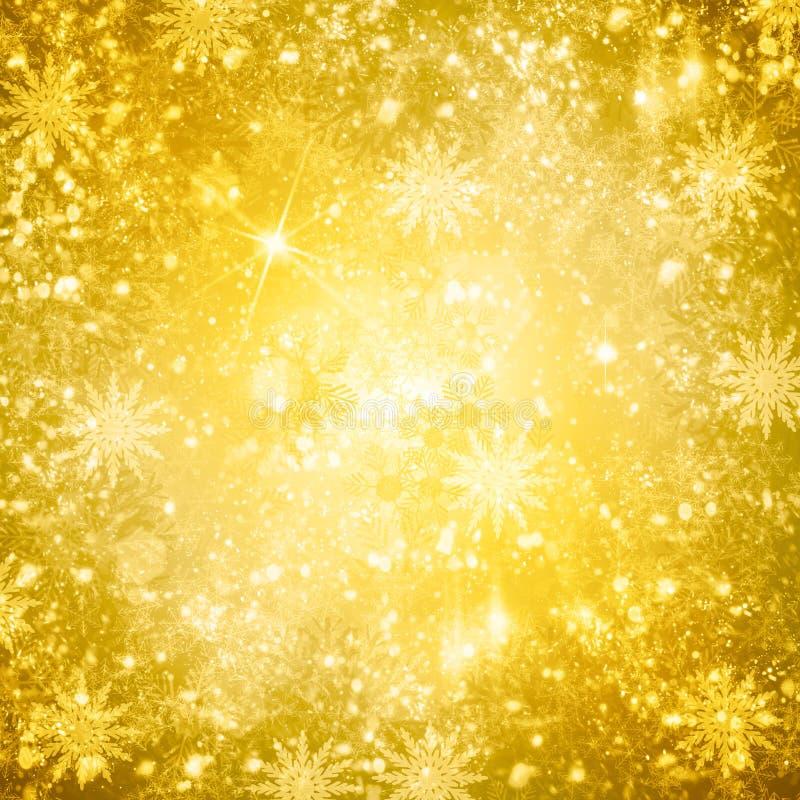 De achtergrond van de Kerstmissneeuw vector illustratie