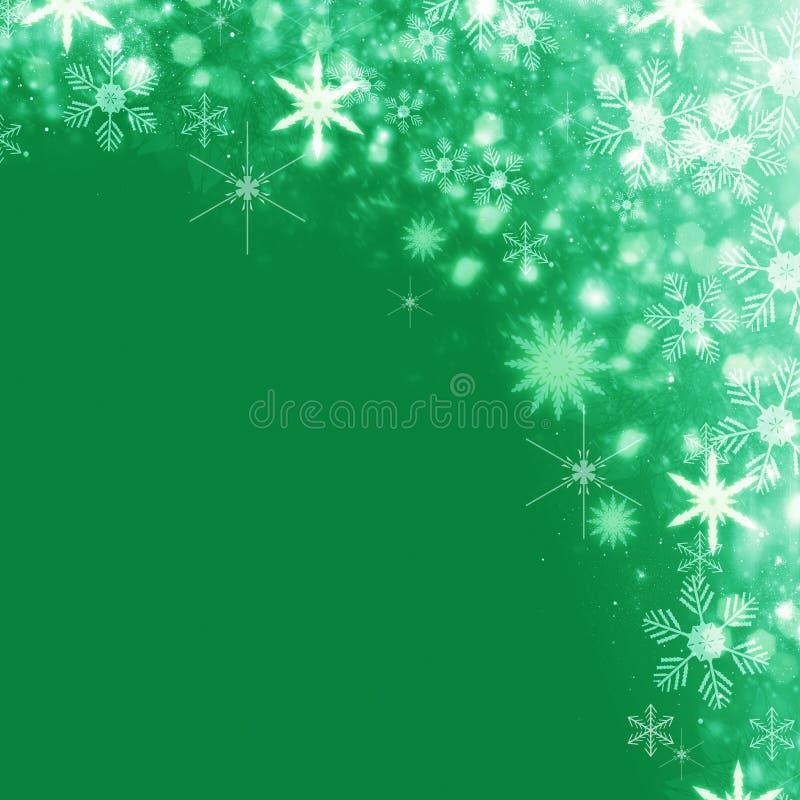De achtergrond van de Kerstmissneeuw royalty-vrije illustratie