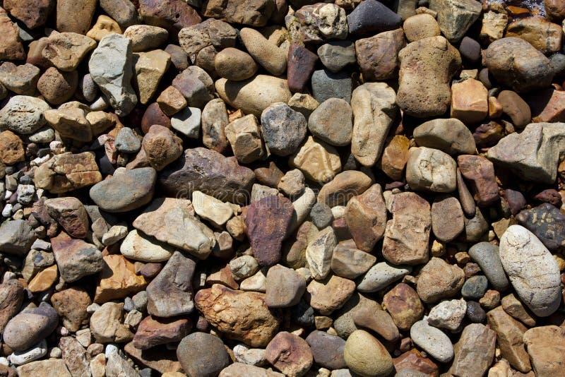 De achtergrond van de kiezelsteensteen royalty-vrije stock afbeelding