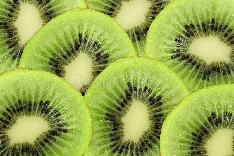 De achtergrond van de kiwi stock foto