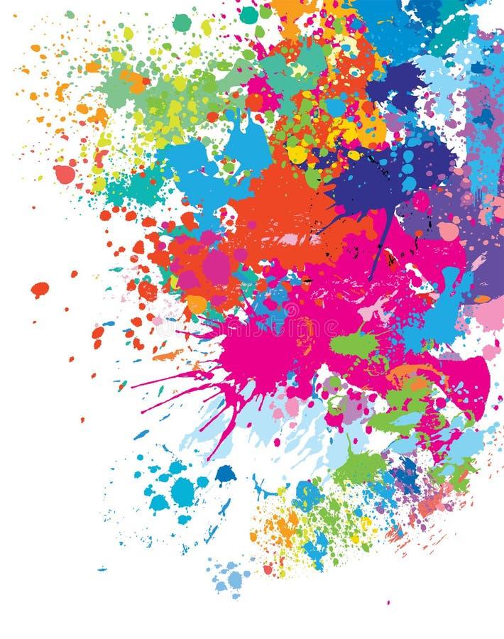 De achtergrond van de kleur stock illustratie