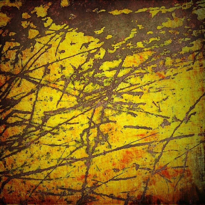De achtergrond van de kleur grunge stock fotografie