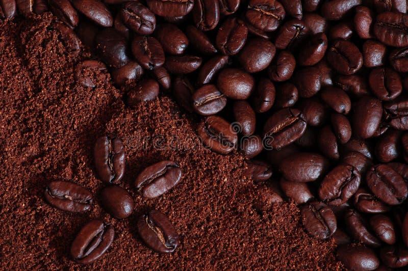 De achtergrond van de koffie royalty-vrije stock fotografie
