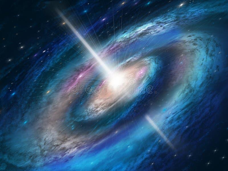 De achtergrond van de kosmos royalty-vrije illustratie