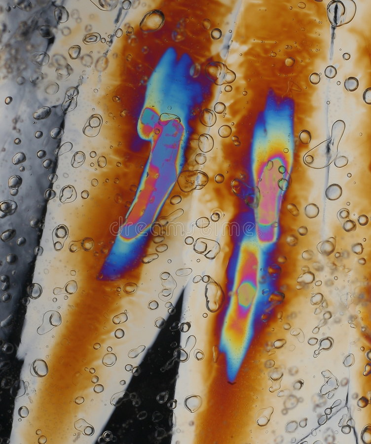 De achtergrond van de Kristallen van het ijs royalty-vrije stock fotografie
