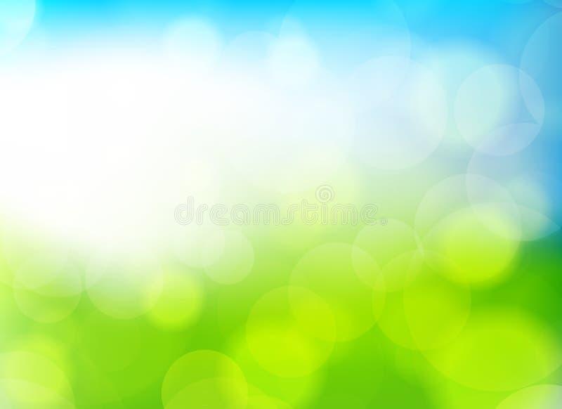 De achtergrond van de lente royalty-vrije illustratie
