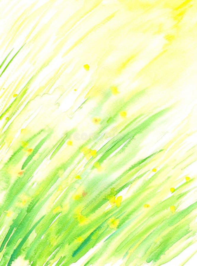 De achtergrond van de lente vector illustratie