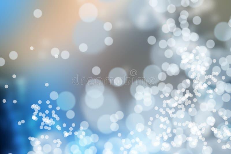 De Achtergrond van de Lichten van Bokeh royalty-vrije illustratie