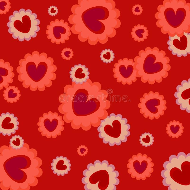De achtergrond van de liefde vector illustratie