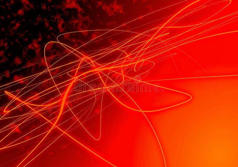 De Achtergrond van de Lijnen van de brand vector illustratie