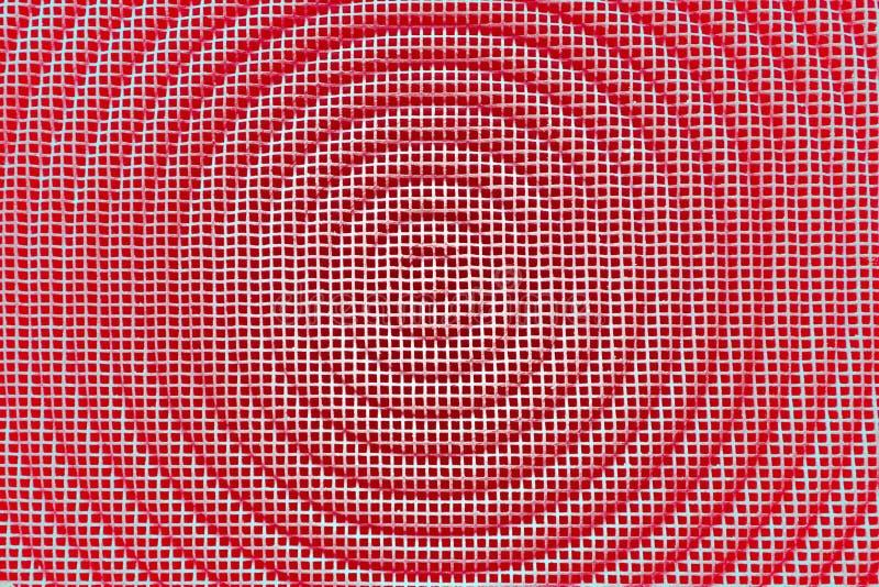 De achtergrond van de metaaltextuur Vierkant net met cirkel Retro wijnoogst Het type van de brievendoopvont van de typografie stock foto