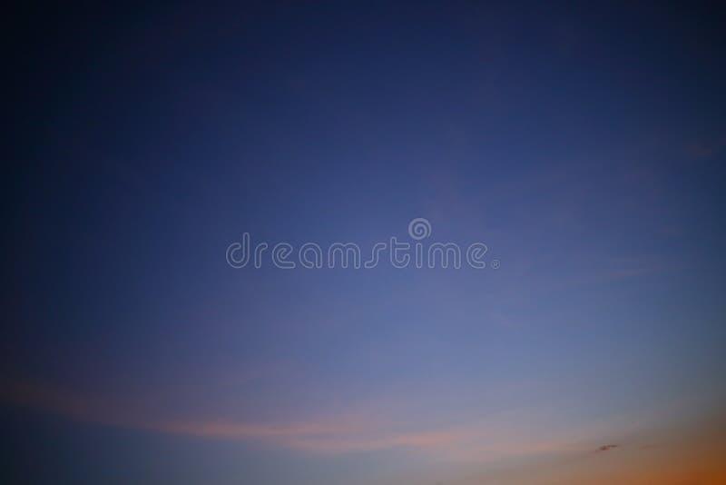 De Achtergrond van de nachthemel stock fotografie