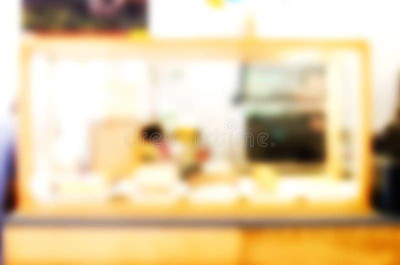 De achtergrond van de onduidelijk beeldkoffie royalty-vrije stock fotografie