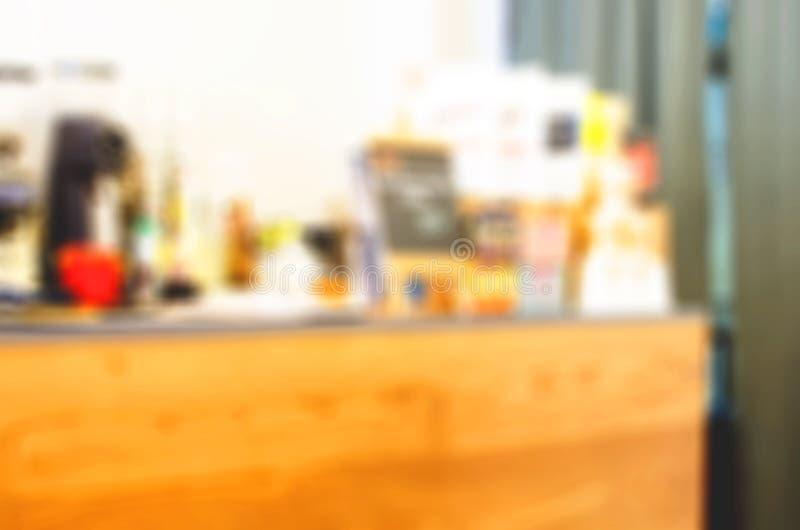 De achtergrond van de onduidelijk beeldkoffie royalty-vrije stock foto
