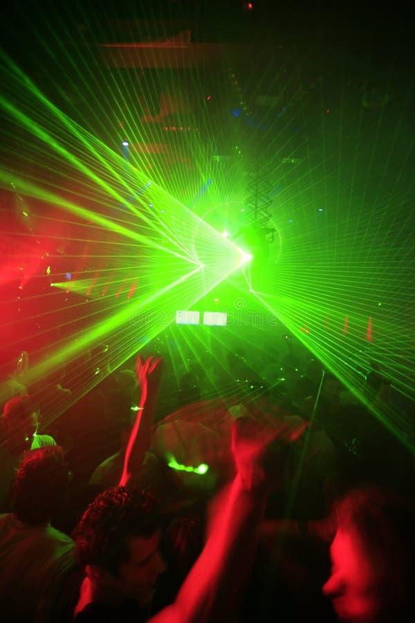 De Achtergrond van de Partij van de Club van de nacht royalty-vrije stock afbeelding