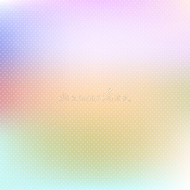De achtergrond van de pastelkleurstip stock illustratie