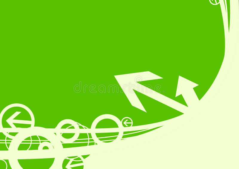 De achtergrond van de pijl stock illustratie
