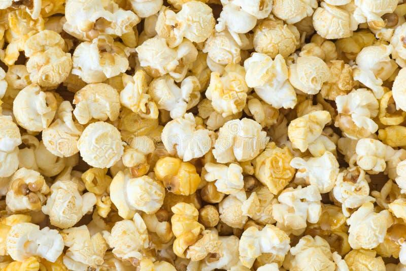 De achtergrond van de popcorn royalty-vrije stock foto