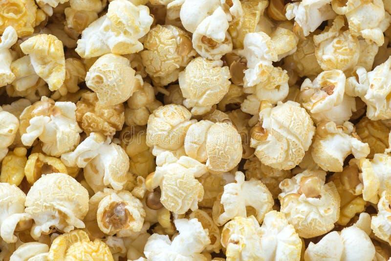 De achtergrond van de popcorn stock afbeeldingen