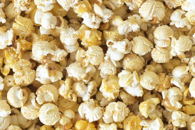 De achtergrond van de popcorn stock foto's