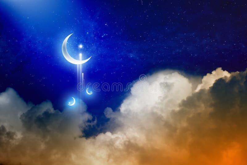 De Achtergrond van de Ramadan vector illustratie