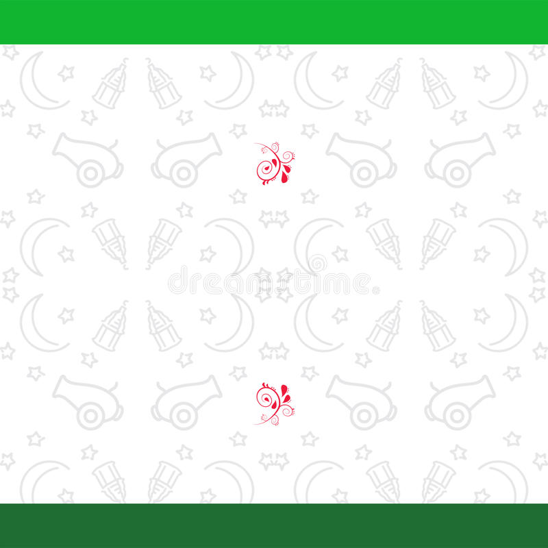 De Achtergrond van de Ramadan royalty-vrije stock afbeeldingen