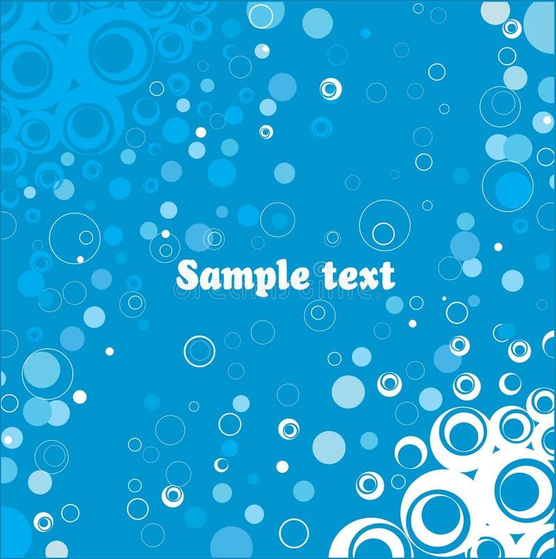 De achtergrond van de reclame. vector illustratie