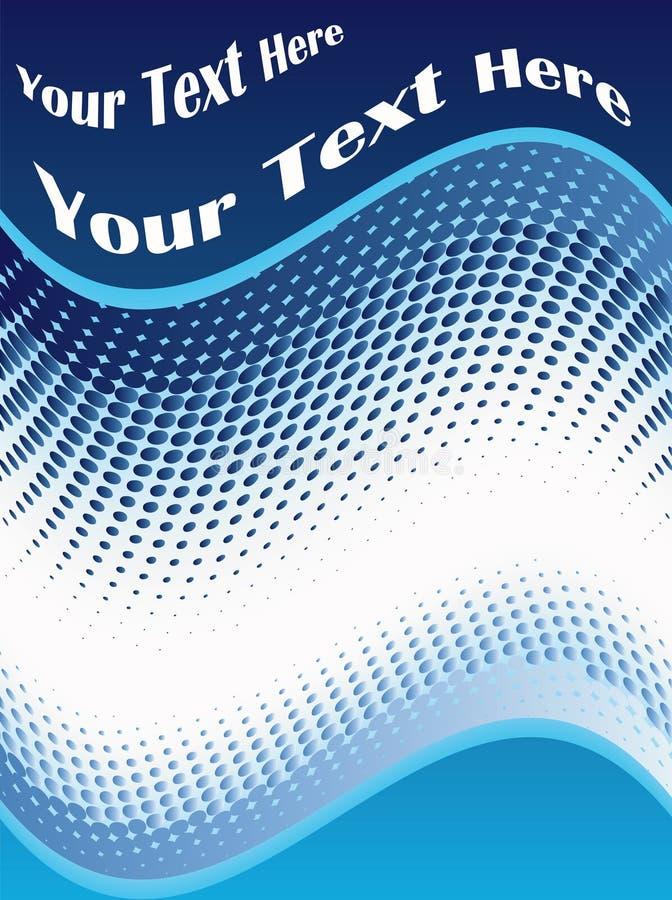 De achtergrond van de reclame vector illustratie