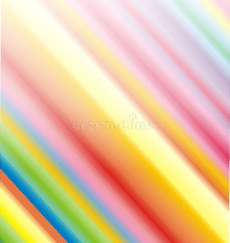 De achtergrond van de regenboog vector illustratie