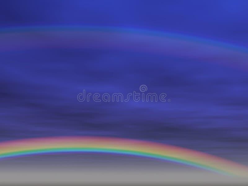 De achtergrond van de regenboog [2] royalty-vrije illustratie