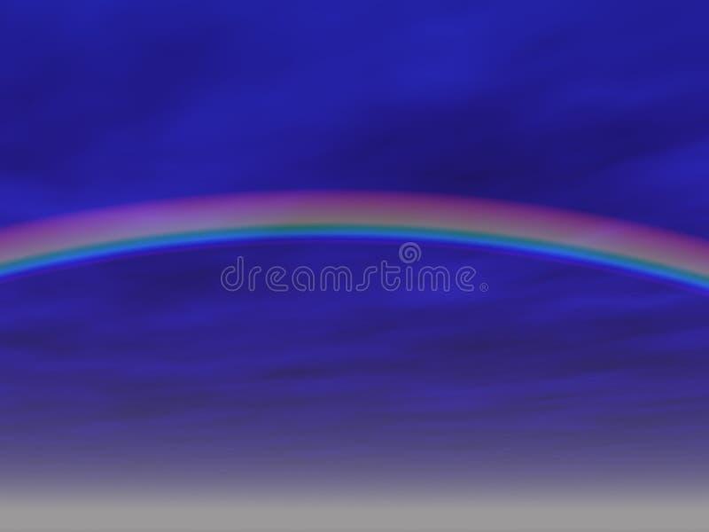 Download De Achtergrond Van De Regenboog Stock Illustratie - Illustratie bestaande uit wolken, patronen: 37865