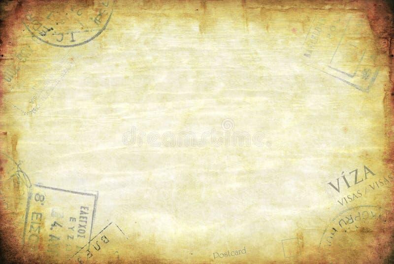 De Achtergrond van de Reis van Grunge stock afbeeldingen