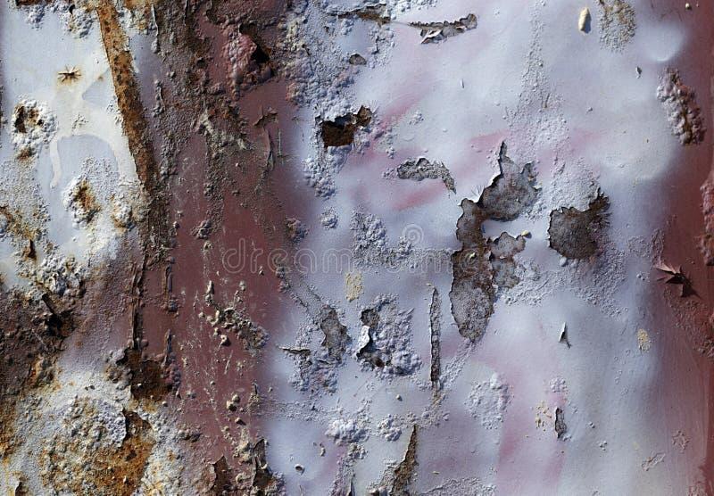 De achtergrond van de roest Groen en bruin stock afbeeldingen