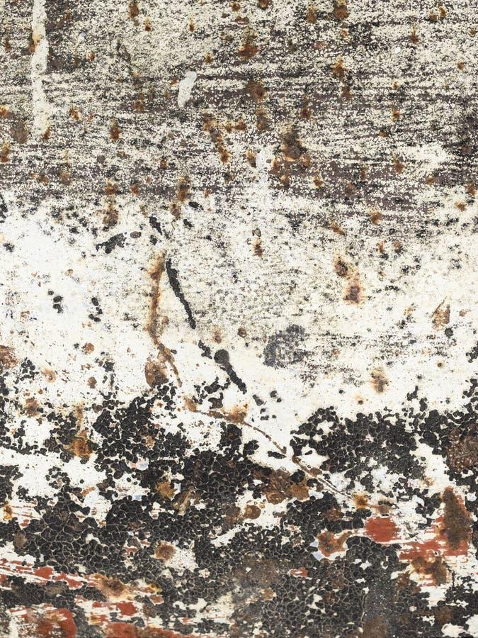 De achtergrond van de roest Groen en bruin royalty-vrije stock afbeeldingen