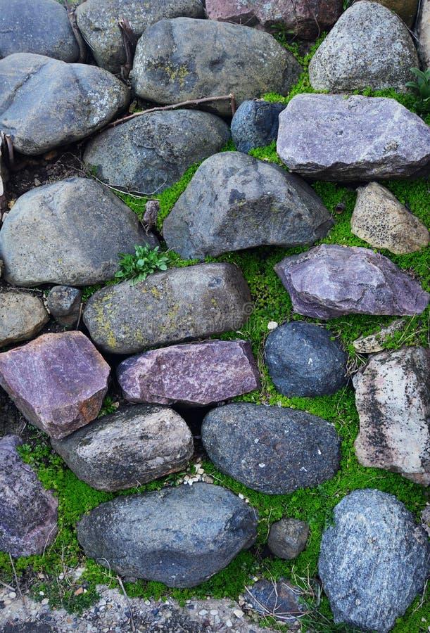 De achtergrond van de rots stock afbeelding