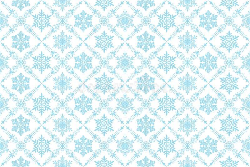 De achtergrond van de sneeuw vector illustratie