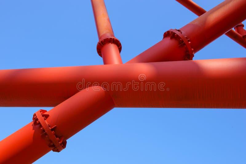 De achtergrond van de staalbouw royalty-vrije stock foto